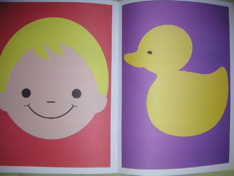 Иллюстрация 1 из 20 для Цветные картинки. Развитие ребенка от рождения до года. - Дарья Денисова | Лабиринт - книги. Источник: kisska