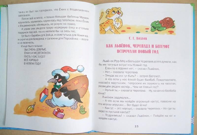 Иллюстрация 1 из 9 для Новогодняя сказка: Сказки - Сергей Козлов   Лабиринт - книги. Источник: ashatan