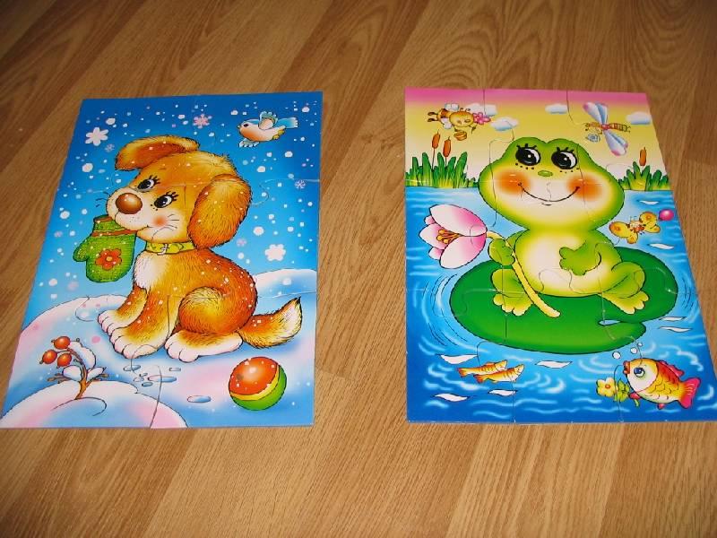 Иллюстрация 1 из 7 для Играй и собирай. Зимой и летом (1020) | Лабиринт - игрушки. Источник: Джинни
