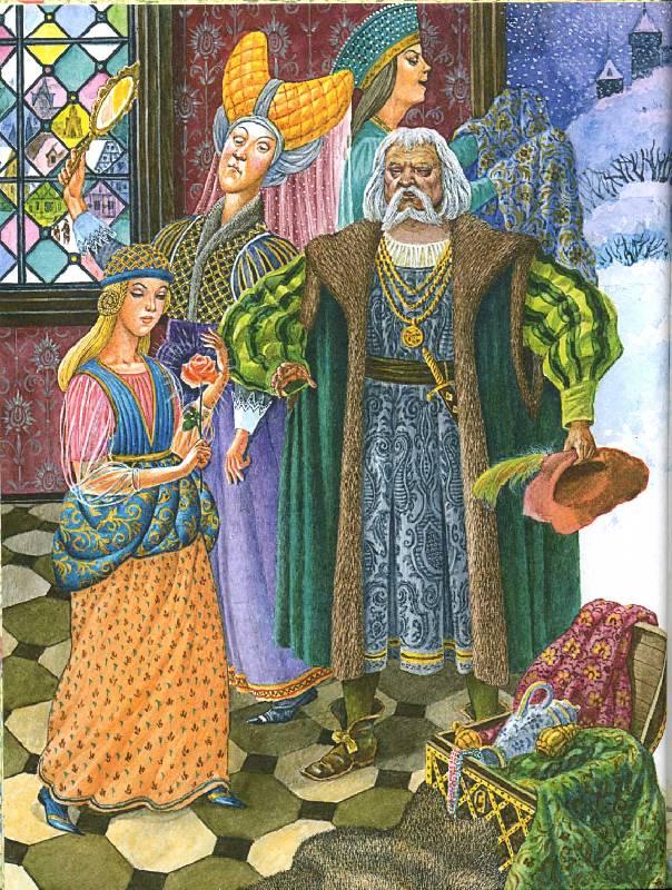 Иллюстрация 1 из 33 для Красавица и чудовище: Сказки народов мира | Лабиринт - книги. Источник: РИВА