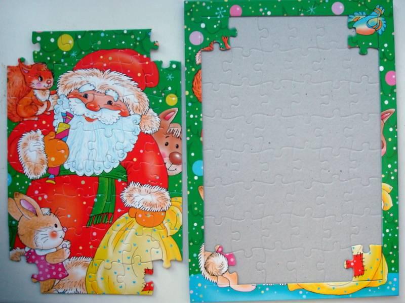 Иллюстрация 1 из 8 для Развивающие рамки. Дед Мороз | Лабиринт - игрушки. Источник: Бривух