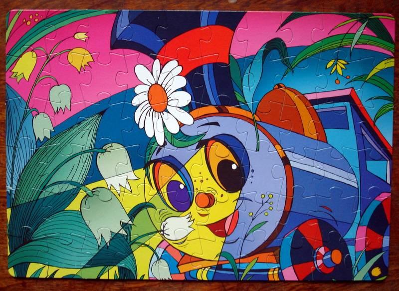 Иллюстрация 1 из 8 для Step Puzzle-60 81017 Паровозик и ландыш | Лабиринт - игрушки. Источник: Бривух