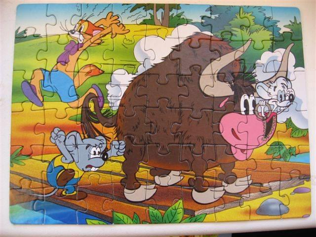 """Иллюстрация 1 из 8 для Step Puzzle-54 """"Приключения кота Леопольда"""" (71021)   Лабиринт - игрушки. Источник: Юта"""