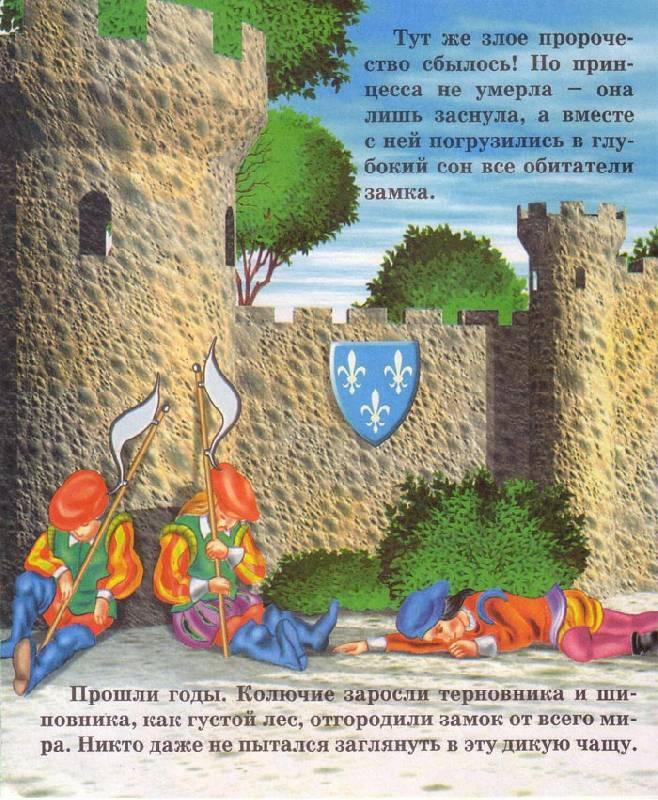 Иллюстрация 1 из 8 для Спящая красавица   Лабиринт - книги. Источник: Кнопа2