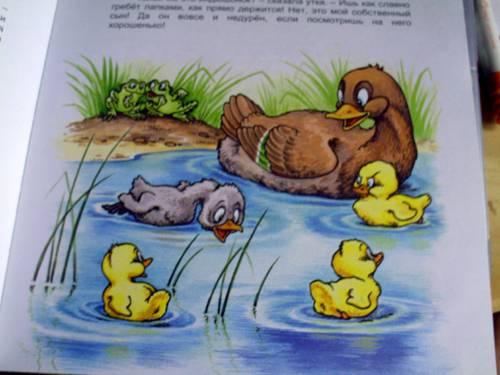Иллюстрация 1 из 10 для Гадкий утенок.   Лабиринт - книги. Источник: angelan