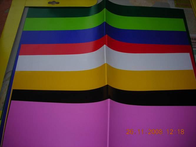 Иллюстрация 1 из 2 для Набор мелованной цветной бумаги 8л/8цв. НДТ-001 | Лабиринт - канцтовы. Источник: Плахова  Татьяна