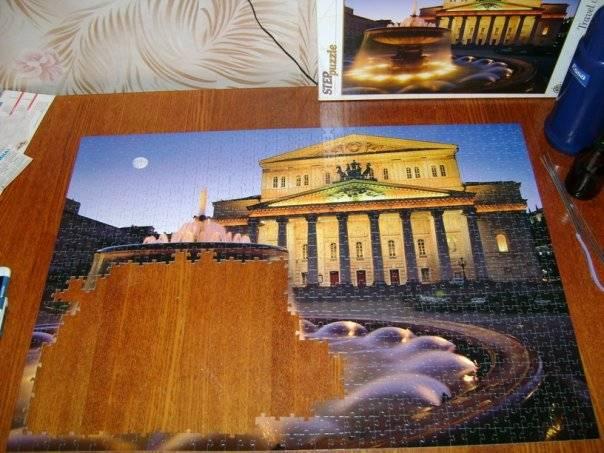 Иллюстрация 1 из 6 для Step Puzzle-1000 79061 Большой театр. Москва | Лабиринт - игрушки. Источник: Hoty