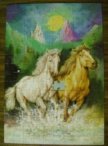 Иллюстрация 1 из 5 для Step Puzzle-160 72038 Лошади | Лабиринт - игрушки. Источник: Hoty