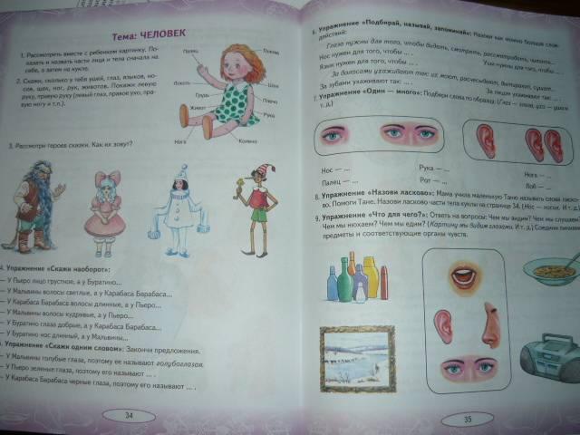 Детский сад № 84: Лексическая тема: Части тела и лица.