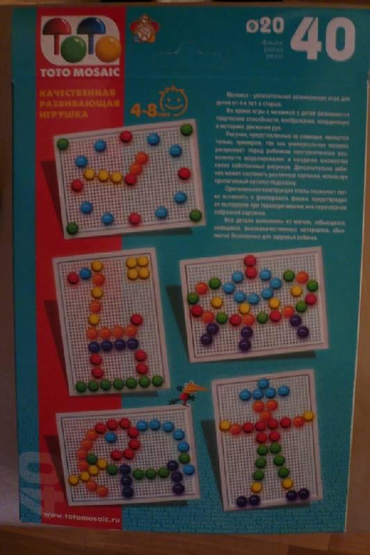 Иллюстрация 1 из 7 для Мозаика: 40 элементов (00-126)   Лабиринт - игрушки. Источник: JanyBu