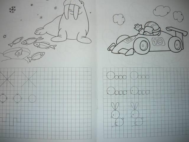 Иллюстрация 1 из 5 для Клетки и линейки. Рисуем по клеточкам. Гриб - Наталья Безрукова   Лабиринт - книги. Источник: Ромашка:-)