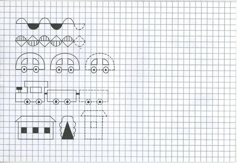 Иллюстрация 1 из 20 для Прописи. Рисуем по клеточкам - И. Попова | Лабиринт - книги. Источник: Machaon