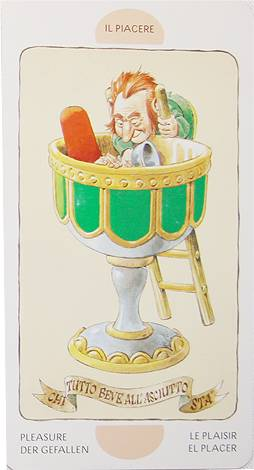 Иллюстрация 1 из 16 для Таро Гномов - Аллиего, Лупателли | Лабиринт - книги. Источник: Colombina