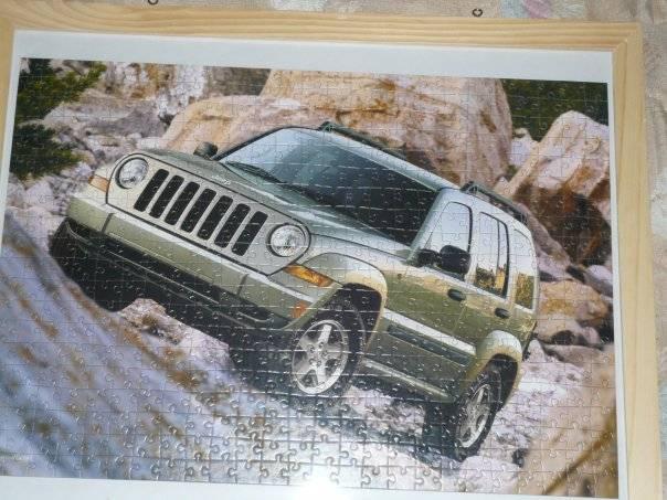 Иллюстрация 1 из 4 для Puzzle-500. Джип в горах (В-51045) | Лабиринт - игрушки. Источник: Hoty