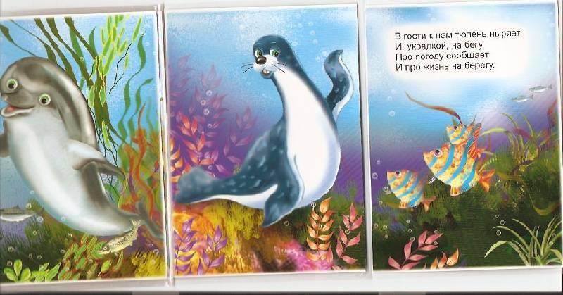 Иллюстрация 1 из 6 для Книжка-непромокашка: Морская прогулка - Сергей Тетерин | Лабиринт - книги. Источник: пАдонак