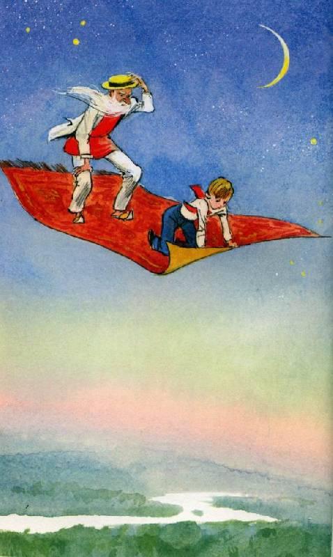 Иллюстрация 1 из 2 для Старик Хоттабыч - Лазарь Лагин | Лабиринт - книги. Источник: Марикка