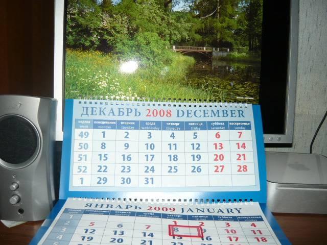 Иллюстрация 1 из 3 для Календарь 2009 Пейзаж с мостиком (16812) | Лабиринт - сувениры. Источник: Ромашка:-)