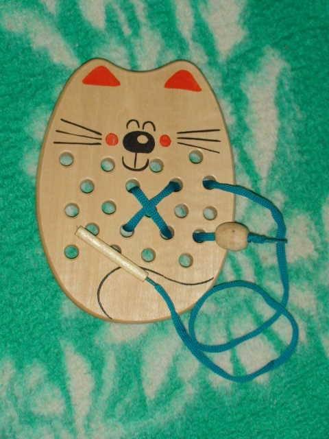 Иллюстрация 1 из 13 для Кот-шнуровка (Ш-058) | Лабиринт - игрушки. Источник: _Елена_