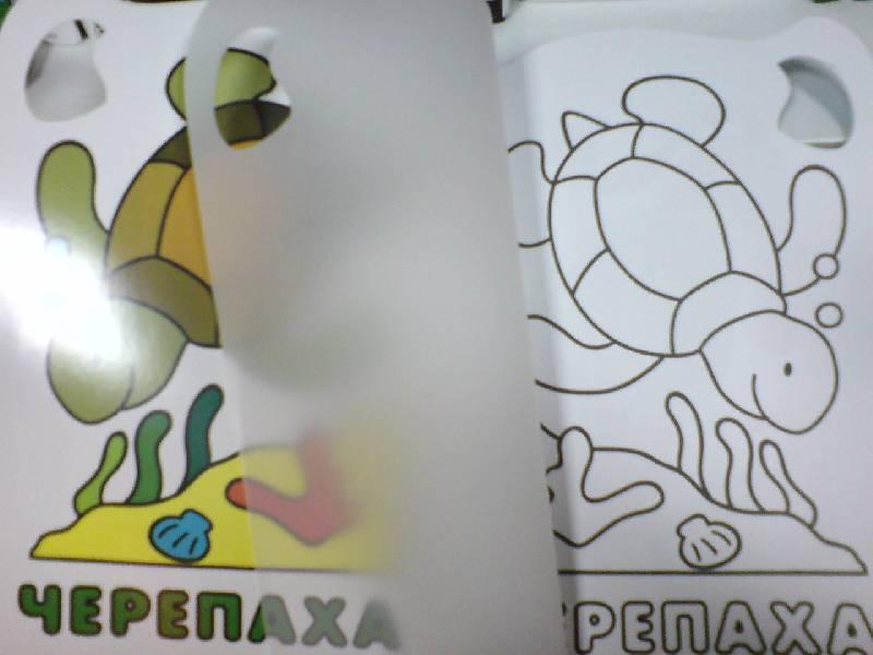 Иллюстрация 1 из 3 для Обведи и раскрась. С калькой. Вырубка. Лев | Лабиринт - книги. Источник: Настёна
