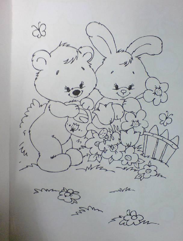 Иллюстрация 1 из 10 для Веселая мозаика. Мишка   Лабиринт - книги. Источник: Настёна