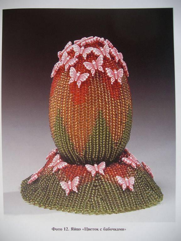 Автор: Admin Дата: 31.10.2013 Описание: Пасхальные яйца из бисера, схемы.  Плетение пасхальных яиц.