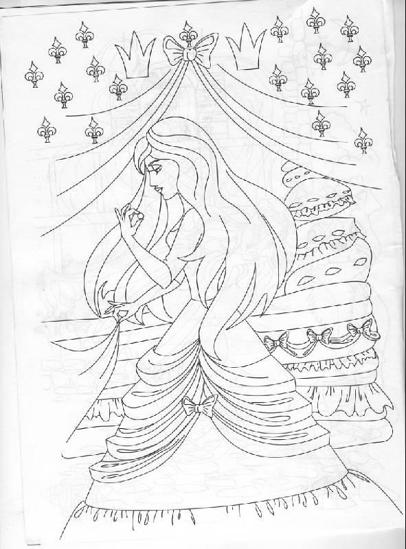 Иллюстрация 1 из 13 для Раскраска: Сказки Андерсена (Р040107) | Лабиринт - книги. Источник: The Cat