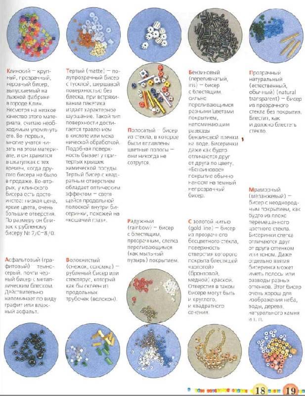 """Иллюстрация 15 к книге  """"Бисер: Техника, приемы, изделия  """", фотография, изображение, картинка."""