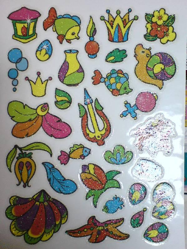 Иллюстрация 1 из 11 для Сверкающие наклейки. Русалочка   Лабиринт - книги. Источник: Настёна