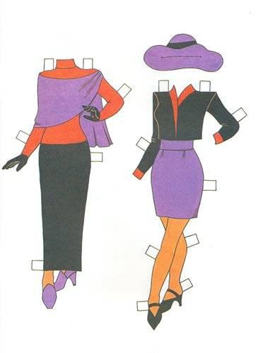 Иллюстрация 1 из 6 для Одеваем Вику | Лабиринт - книги. Источник: Крылова  Светлана Александровна