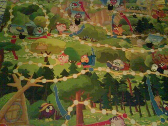 Иллюстрация 1 из 5 для Ходилки. Смешарики. Смешарики в лесу | Лабиринт - игрушки. Источник: Юляша