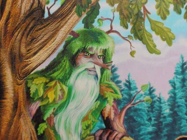 отрывок из поэмы руслан и людмила у лукоморья дуб зелёный картинки