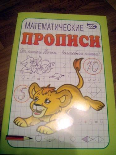 Иллюстрация 1 из 11 для Математические прописи - Полярный, Никольская   Лабиринт - книги. Источник: Galia