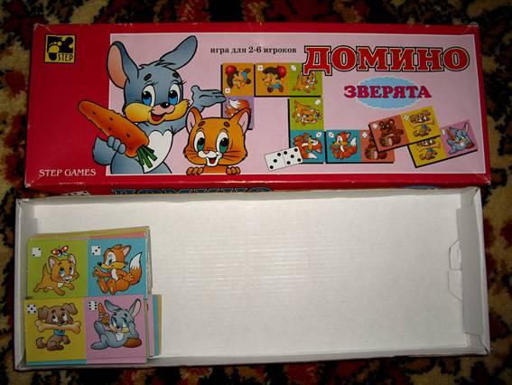 Иллюстрация 1 из 14 для Домино: Зверята (8004)   Лабиринт - игрушки. Источник: OOlga
