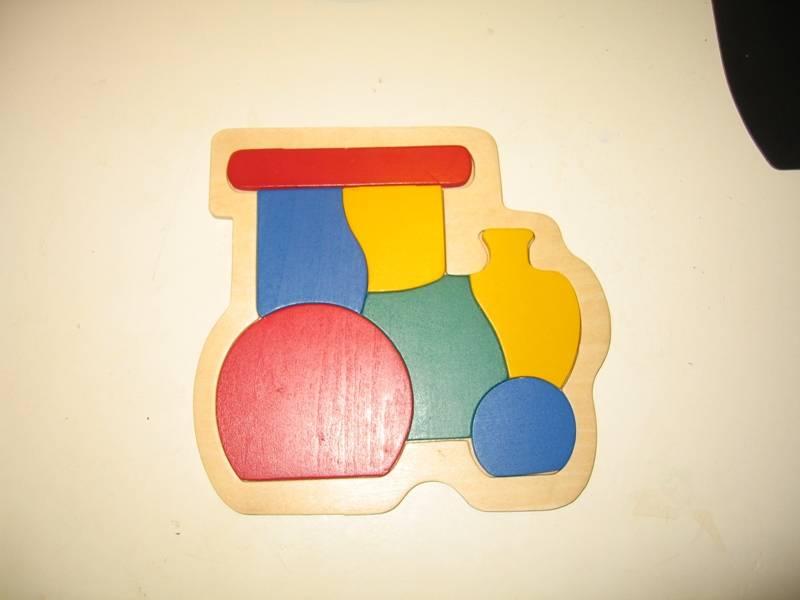 Иллюстрация 1 из 10 для Паровоз | Лабиринт - игрушки. Источник: Manaum