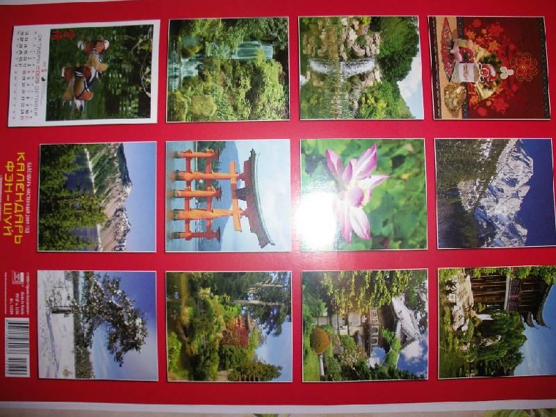 Иллюстрация 1 из 7 для Календарь 2009 Фэн-Шуй 12809 | Лабиринт - сувениры. Источник: Tiger.