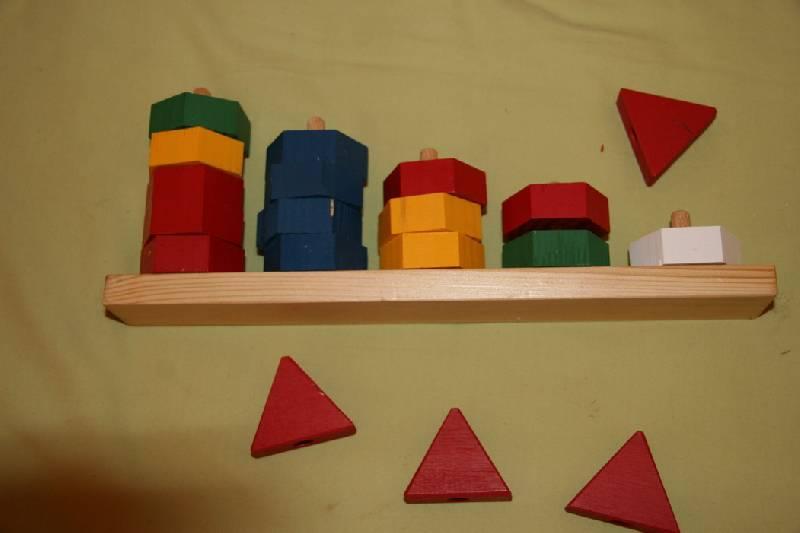 Иллюстрация 1 из 9 для Пирамидка Абака цветная (Д-298) | Лабиринт - игрушки. Источник: kisska