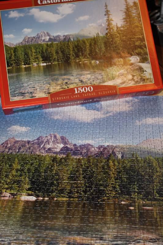 Иллюстрация 1 из 2 для Puzzle-1500 Озеро. Татры (С-150465) | Лабиринт - игрушки. Источник: Канапелька