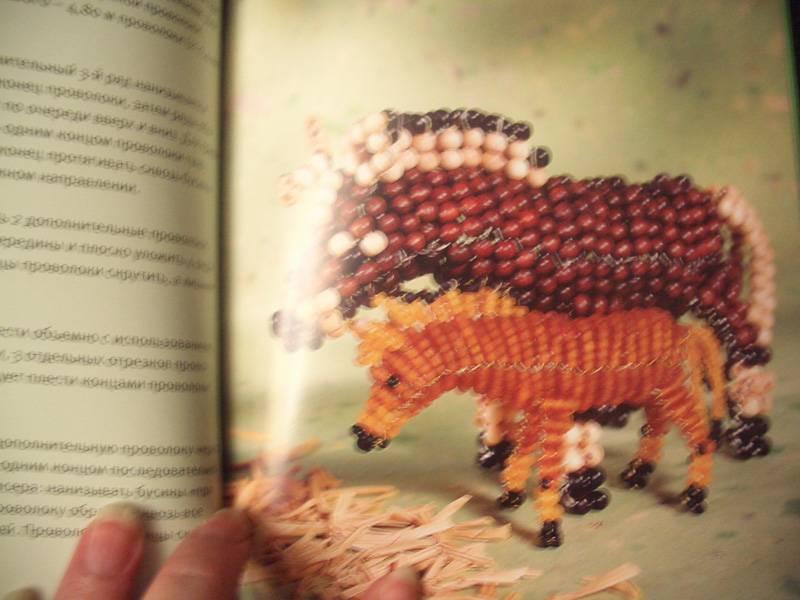 """Иллюстрация 2 к книге  """"Зверята из бисера """", фотография, изображение, картинка."""