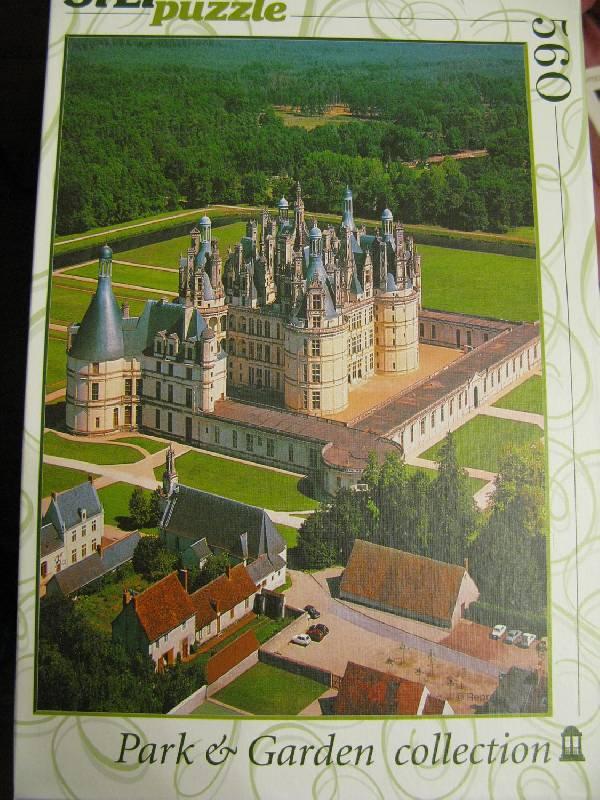 Иллюстрация 1 из 3 для Step Puzzle-560 Франция. Замок (78067) | Лабиринт - игрушки. Источник: fidji