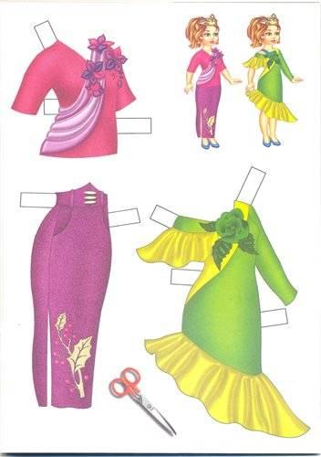 Иллюстрация 1 из 7 для Одень куклу: Мисс Мира   Лабиринт - игрушки. Источник: Крылова  Светлана Александровна