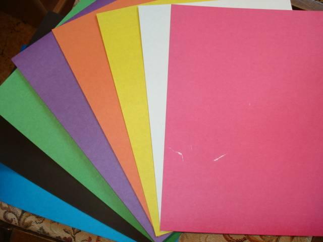 Иллюстрация 1 из 11 для Цветной картон А4, 8 листов, 8 цветов (ЦК2851) | Лабиринт - канцтовы. Источник: Алёнушка-Аленка