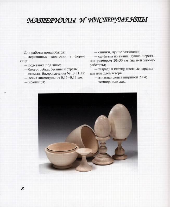 Подарочные яйца из бисера - Кожевникова Галина Ивановна.