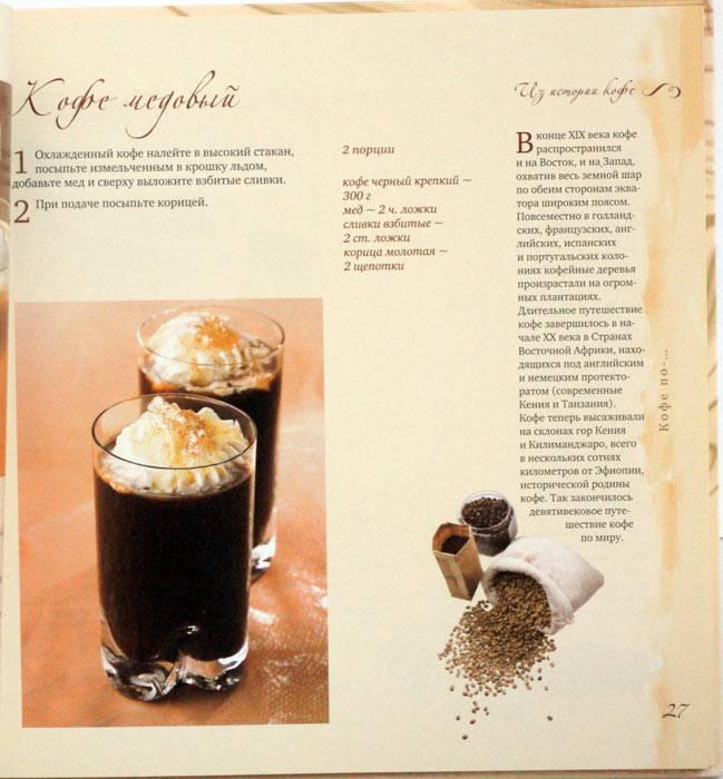 Рецепты кофе в домашних условиях
