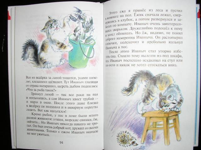 Как и его отец, сам юный чарушин великолепно рисовал с детства