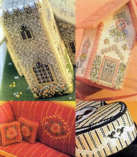 Иллюстрация 1 из 24 для Объемная вышивка крестом. Игрушки. Сувениры. Подарки - Мэг Эвершед | Лабиринт - книги. Источник: Panterra