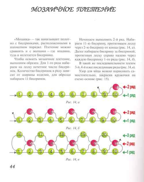Пасхальные яйца - мозаичное переплетение Качество текста не очень хорошее, но схемы вполне понятны.