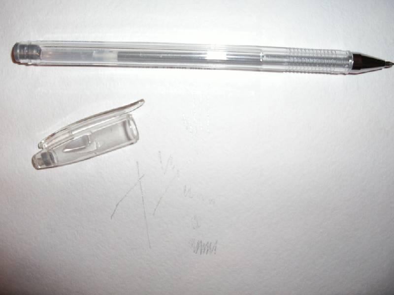Иллюстрация 1 из 2 для Ручка гелевая серебро (HJR-500GSM) | Лабиринт - канцтовы. Источник: Tiger.