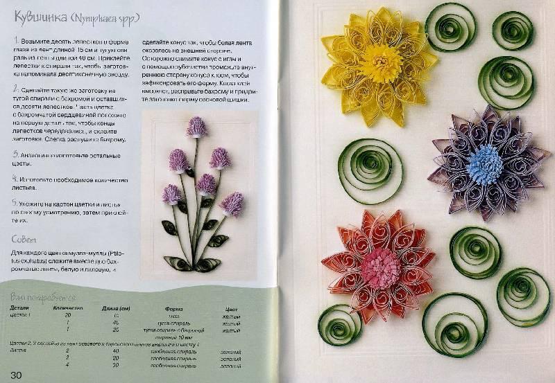 Источник. книги Цветы из бумажных лент - Хелен Уолтер. следующая. из 6...