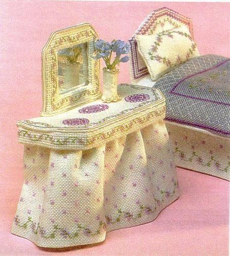 Объемная вышивка крестом игрушки сувениры подарки 97