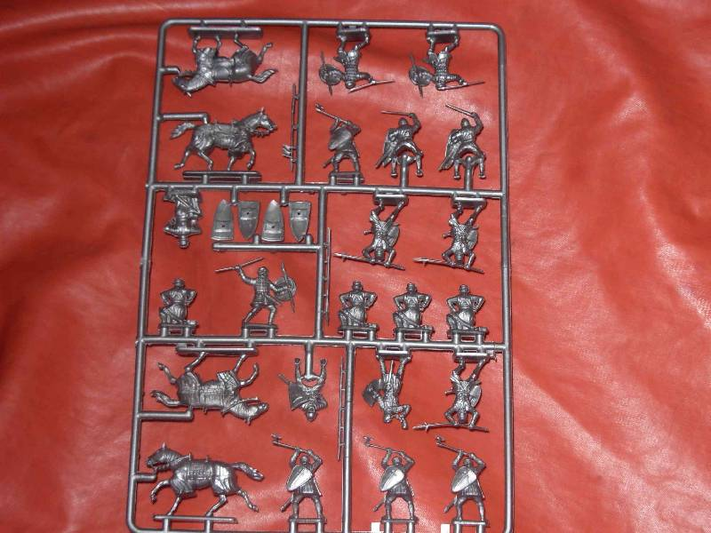 Иллюстрация 1 из 39 для Английские рыцари 100-летней войны. XIV-XV в. (8044) | Лабиринт - игрушки. Источник: ---Марго----